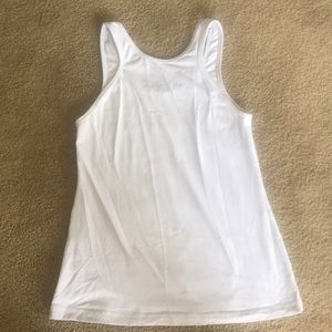 Lululemon coolracer high neck size 6 GUC white